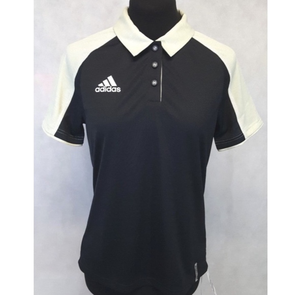 Adidas ClimaLite Athletic Polo Shirt NWT poshmark tops